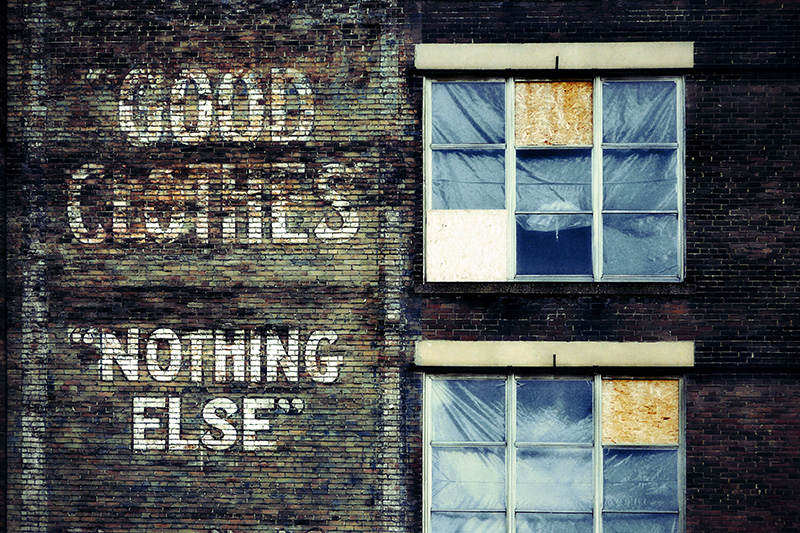 "Photographie : ""Good Clothes"" ""Nothing Else"" ..."